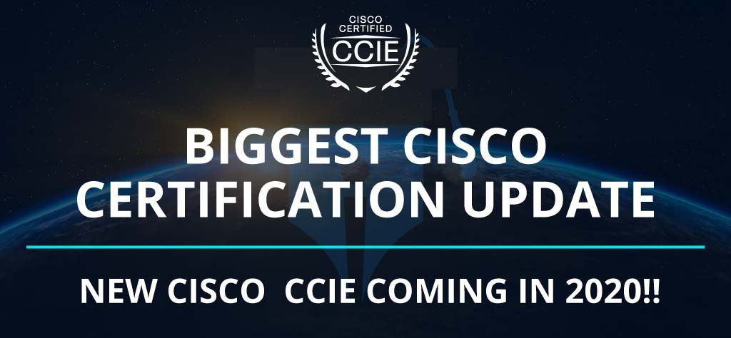 Cisco New Certifications | CCIE LAB CENTER