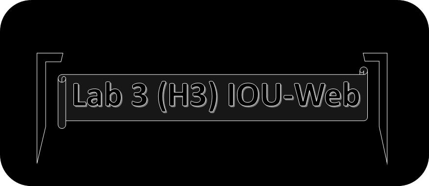 Lab 3 (H3) – IOU-Web Free. Coming Soon