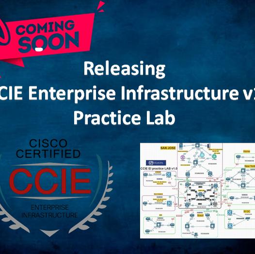 Releasing CCIE Enterprise Infrastructure v1 Practice Lab1